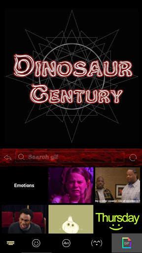 Dinosaur Kika Keyboard Theme screenshot 4