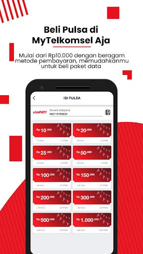 MyTelkomsel - Beli Pulsa/Paket & Dapat Kuota 7,5GB screenshot 4