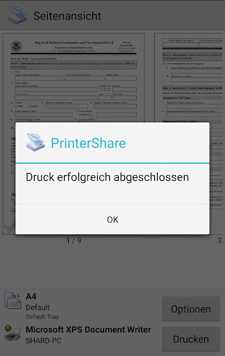 PrinterShare Mobiles Drucken screenshot 7