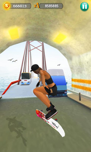 Hoverboard Surfers 3D screenshot 3