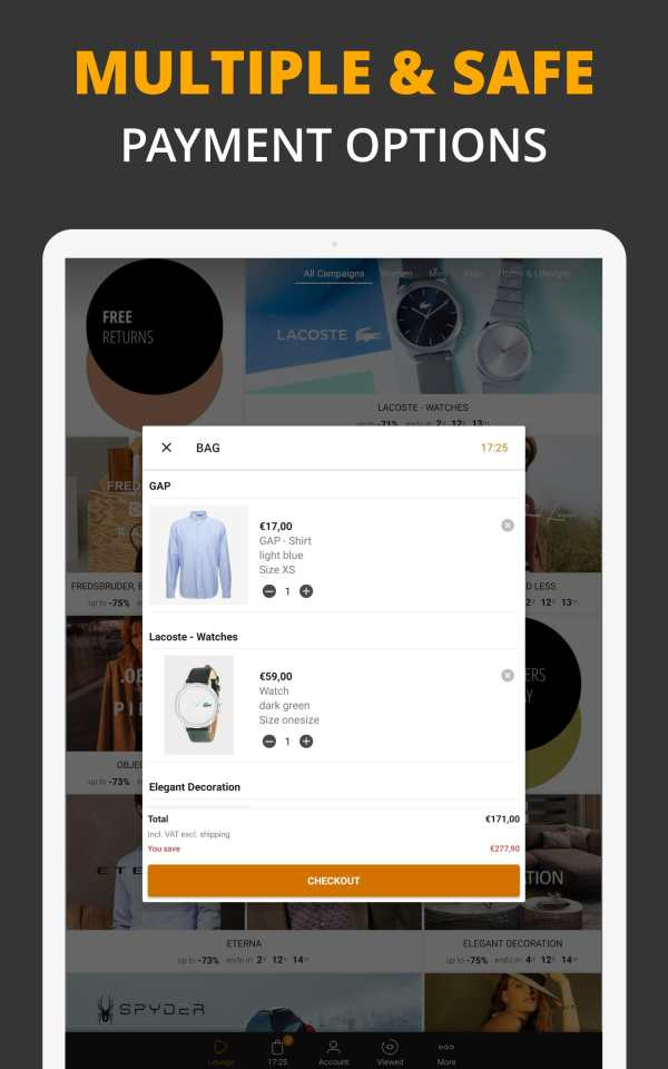 Zalando Lounge - Shopping Club screenshot 10