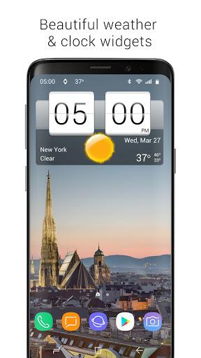 Sense Flip Clock & Weather screenshot 1