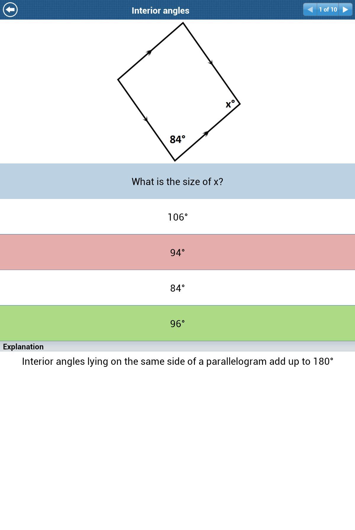GCSE Maths Geometry Revision L screenshot 15