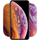 Phone XS MAX Live Wallpaper видео иконка