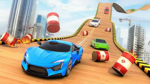 Mega Rampe Car Stunt: Autorennspiele Offline 2021 screenshot 6