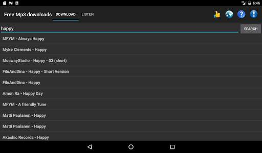 Free Mp3 Downloads स्क्रीनशॉट 8