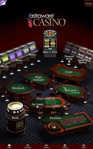Astraware Casino 9 تصوير الشاشة