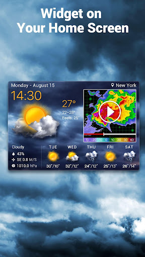 Local Weather Forecast & Real-time Radar checker screenshot 1