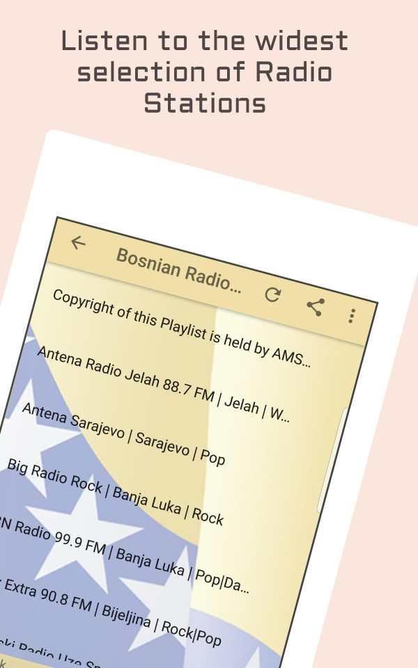 Bosnia Radio Music & News screenshot 6