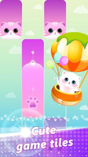 Magic Piano Pink Tiles - Music Game 1 تصوير الشاشة