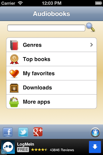 English Audio Books - Librivox 4 تصوير الشاشة