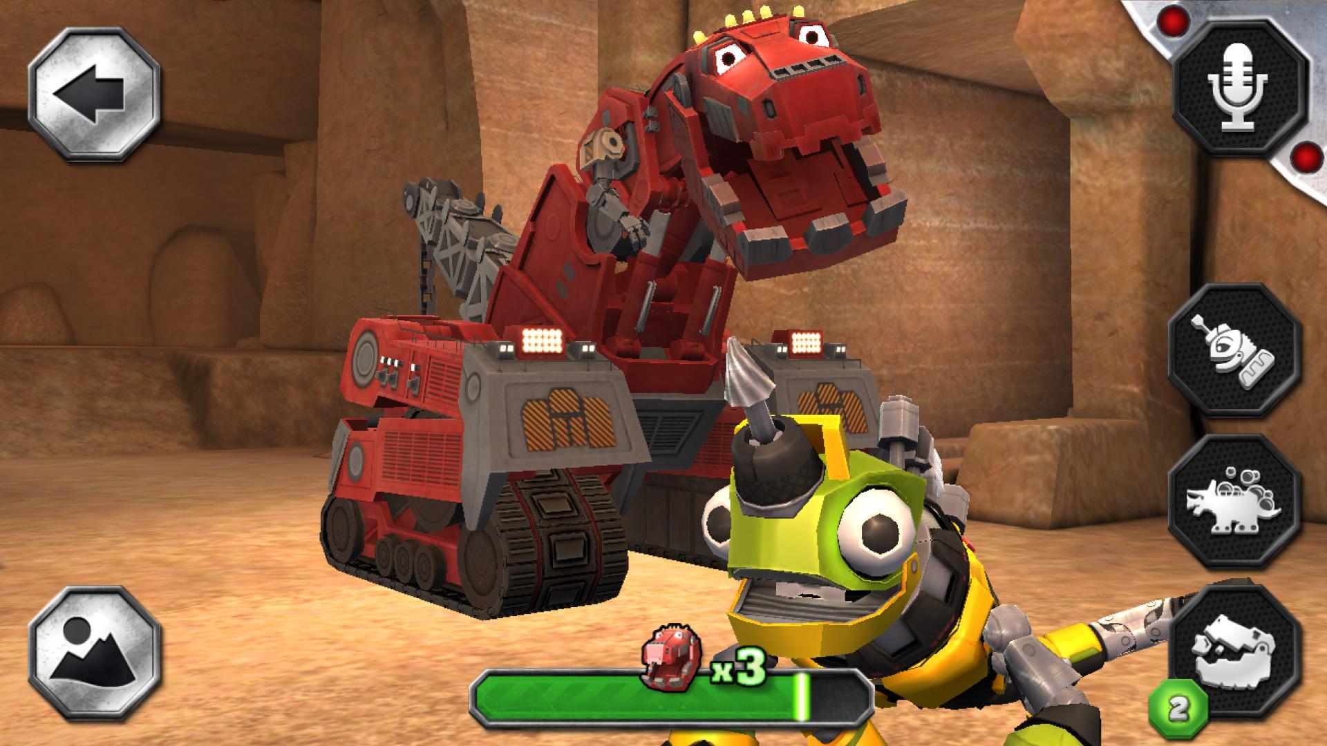 DreamWorks Dinotrux 4 تصوير الشاشة