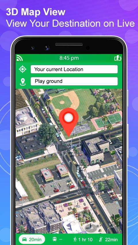 GPS Navigation Live Satellite View Earth Maps screenshot 3
