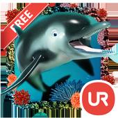 UR 3D Ocean Dolphin Shark HD icon