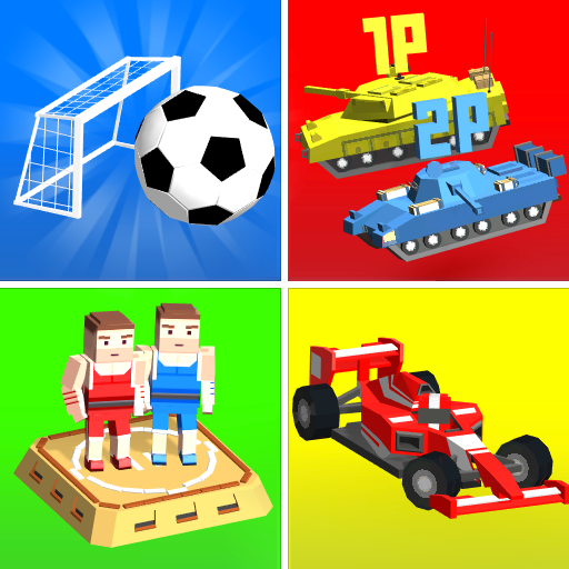 Cubic 2 3 4 ألعاب لاعب أيقونة