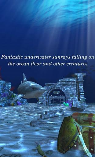 Live Wallpaper - 3D Ocean : World Under The Sea screenshot 2