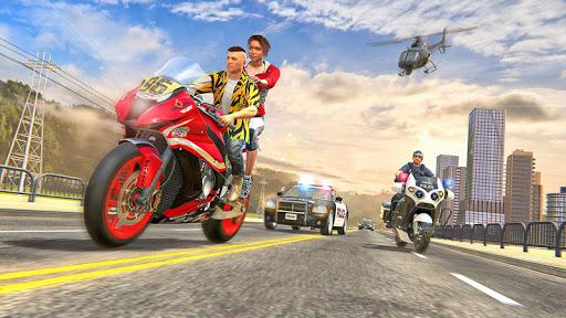 Theft Bike Drift Racing screenshot 4