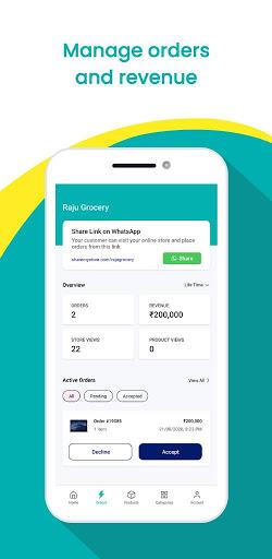 MyStore - Create your Online Dukaan in 15 seconds screenshot 4