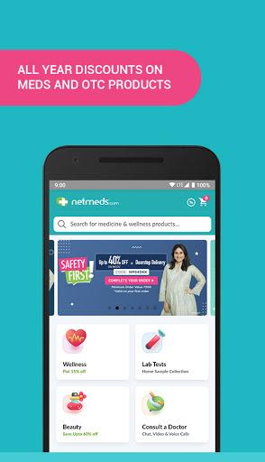 Netmeds - India's Trusted Online Pharmacy App 1 تصوير الشاشة