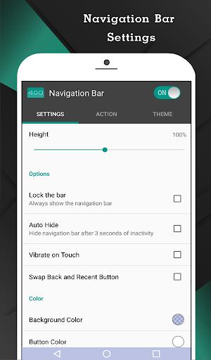Navigation Bar (Back, Home, Recent Button) screenshot 2