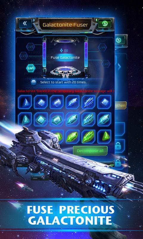 Galaxy Empire 4 تصوير الشاشة