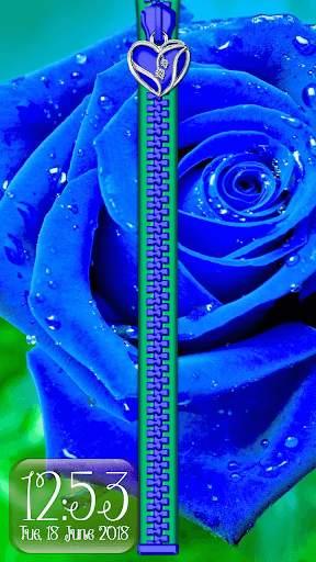 Rose Theme Zipper Lock Screen screenshot 7