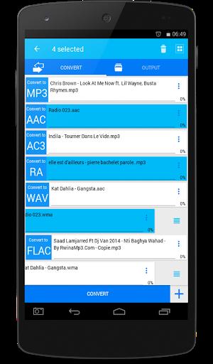 All Video Mp3 Audio Converter screenshot 1