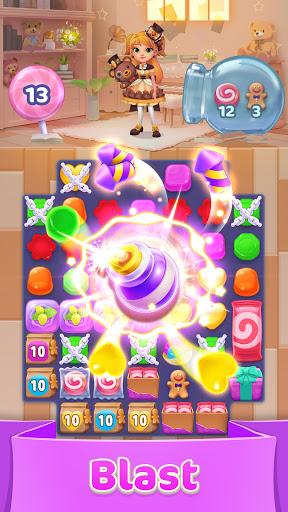 Jellipop Match-Decorate your dream island! screenshot 1