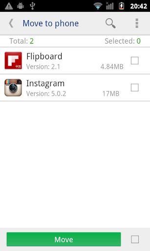 Move app to SD card screenshot 4