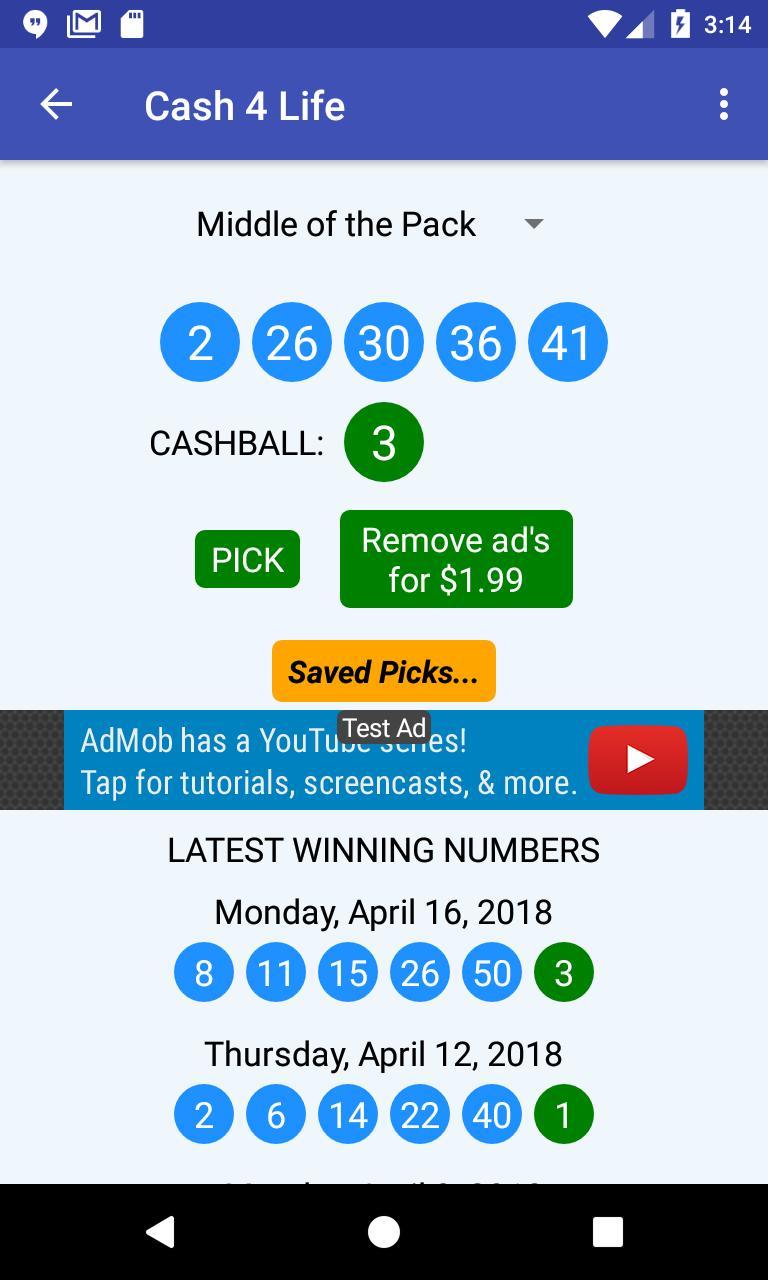 U-Pick Lotto screenshot 5