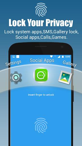 App lock - Real Fingerprint, Pattern & Password 1 تصوير الشاشة