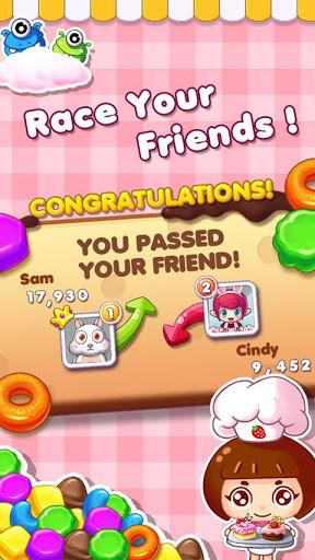 Cookie Mania - Match-3 Sweet Game 4 تصوير الشاشة