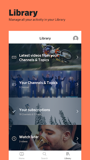 Dailymotion - the home for videos that matter screenshot 4