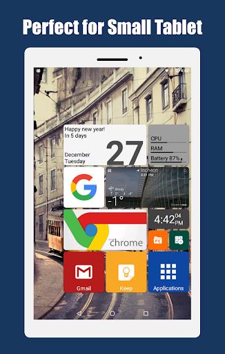 Square Home - Launcher : Windows style 9 تصوير الشاشة