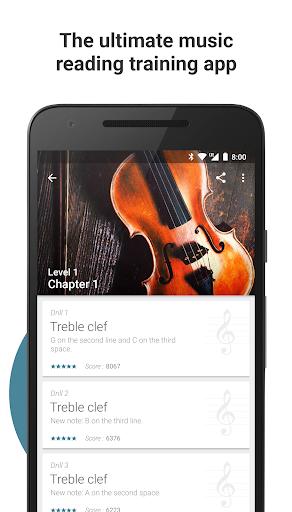 Complete Music Reading Trainer 1 تصوير الشاشة