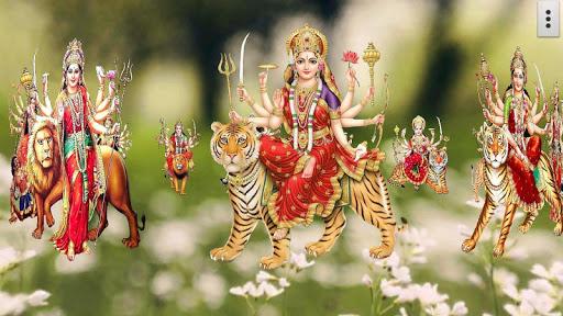 4D Maa Durga Live Wallpaper 12 تصوير الشاشة
