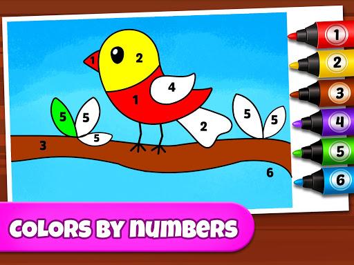 Coloring Games: Coloring Book, Painting, Glow Draw screenshot 12
