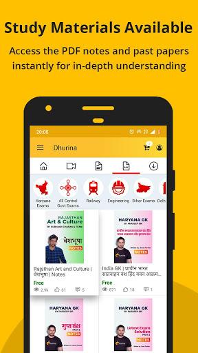 Dhurina - Live Classes, Online Test, eBooks, Notes screenshot 8
