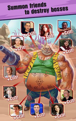 Сlicker idle game: Evolution Heroes स्क्रीनशॉट 3