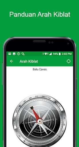 Waktu Solat Malaysia - Kiblat, Azan, Doa screenshot 3