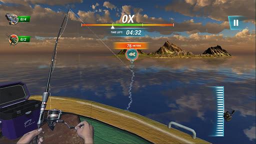 ألعاب صيد السمك البحر الرياضة الصيد محاكي 1 تصوير الشاشة