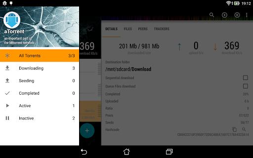 aTorrent - torrent downloader screenshot 20