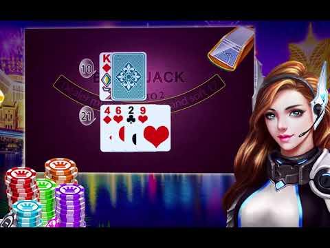 Blackjack 21 Free - Casino Black Jack Trainer Game 1 تصوير الشاشة
