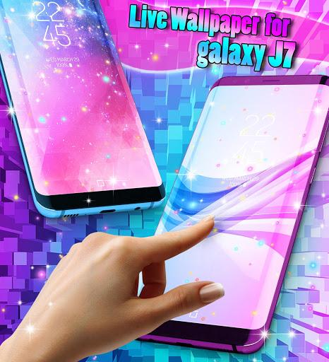 Live wallpaper for Galaxy J7 4 تصوير الشاشة