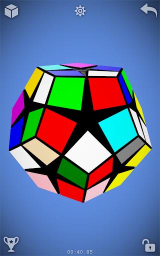 Magic Cube Puzzle 3D 23 تصوير الشاشة