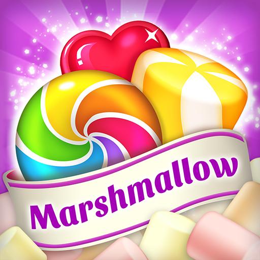 Lollipop & Marshmallow Match3 أيقونة