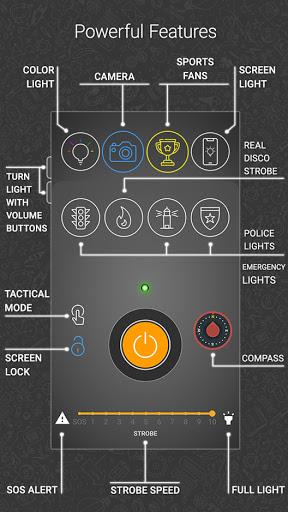 Amazing Flashlight screenshot 2