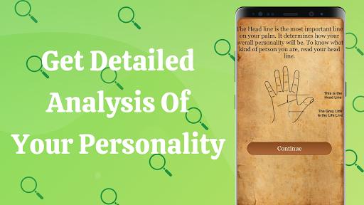 Palm Reading - Fortune Teller & Future Analysis 5 تصوير الشاشة