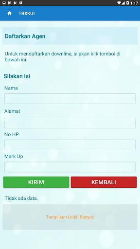 TRXKU - Agen Pulsa & Kuota  All Operator Termurah 8 تصوير الشاشة