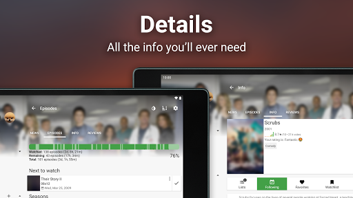 SeriesFad - Your shows manager 11 تصوير الشاشة
